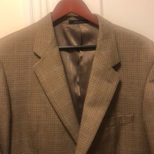 Men's houndstooth blazer